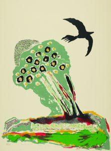 Gallery Talk: Black Bird by Benny Andrews