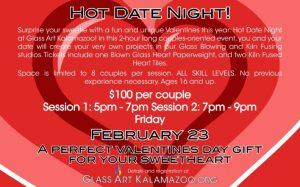 Hot Date Night at Glass Art Kalamazoo