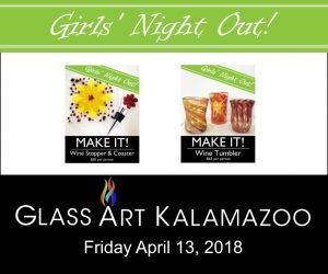 Girls' Night Out at Glass Art Kalamazoo