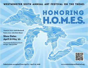 Submissions for Westminster Art Festival