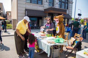 North Burdick Street Block Party - Community Services Charity: Art Hop