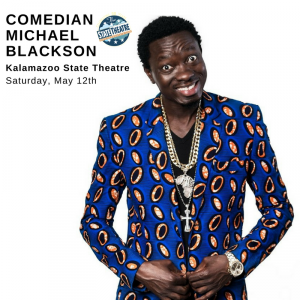 Michael Blackson With Comedians Mike Bonner, Kenny...