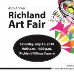 Richland Art Fair – 45th Annual – Call for Art...