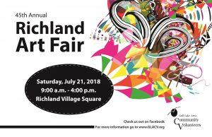 Richland Art Fair – 45th Annual – Call for Artists