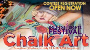 6th ANNUAL SOUNDS & SIGHTS FESTIVAL CHALK ART CONTEST