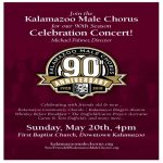 Kalamazoo Male Chorus 90th Season Celebration Concert