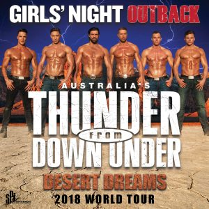 Australia's Thunder From Down Under at the Kalamazoo State Theatre