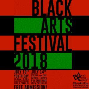 2018 Black Arts Festival