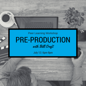 Peer Learning Workshop: Pre-Production