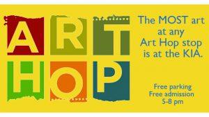 Art Hop: Back to School Art Party