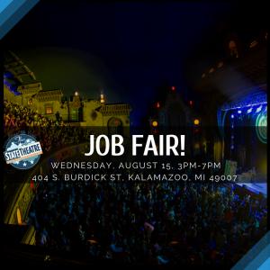 Job Fair at Kalamazoo State Theatre
