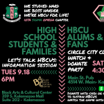 HBCU Student & Family Informational