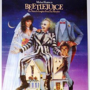 Beetlejuice 1988 (PG) at the Kalamazoo State Theat...