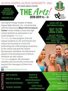 The ARTS! 2018-2019 Information Meeting