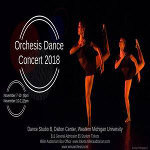Orchesis Dance Concert