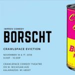 Live Improv Comedy by Crawlspace Eviction