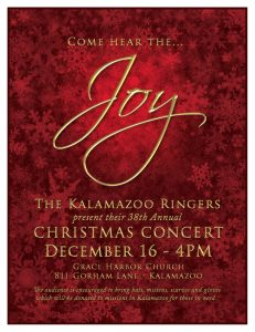 Joy The Kalamazoo Ringers 38th Annual Christmas Concert Presented