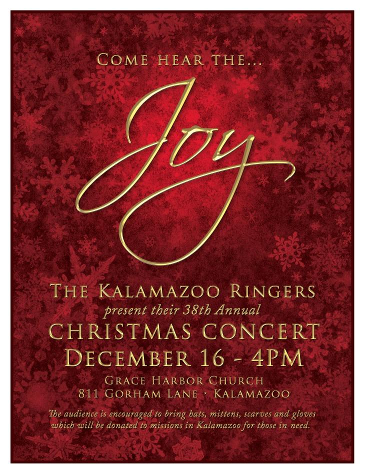 Joy The Kalamazoo Ringers 38th Annual Christmas Concert Kalamazoo Ringers At Grace Harbor Kalamazoo Mi Music