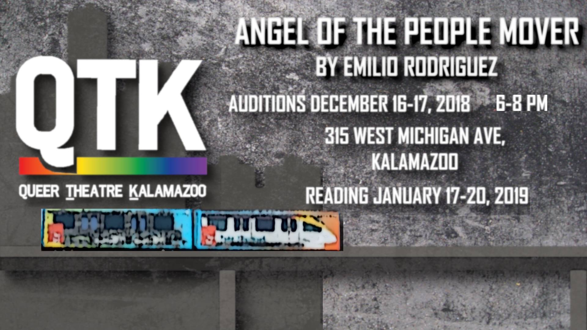 Angel of the People Mover Auditions presented by Queer Theatre
