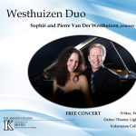 Westhuizen Duo - Sophié and Pierre Van Der Westhuizen, pianists