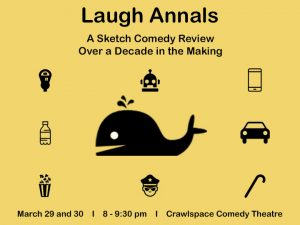 Live Sketch Comedy by Crawlspace Theatre Productio...