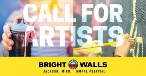 Call for Michigan Artists - Bright Walls Mural Festival
