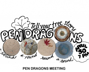 Pen Dragons Calligraphy Guild Monthly Meeting - April 30, 2019