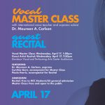 Guest Artist Recital: Soprano Dr. Maureen A. Carlson