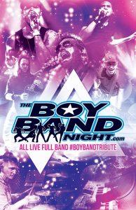 The Boy Band at Overlander Bandshell