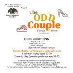 Auditions: The Odd Couple