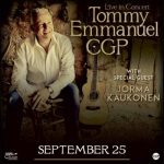 Tommy Emmanuel WSG Jorma Kaukonen at the Kalamazoo State Theatre
