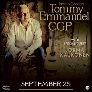 Tommy Emmanuel WSG Jorma Kaukonen at the Kalamazoo...