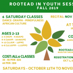 Rootead in Youth Registration