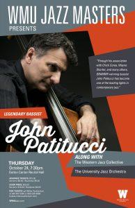 WMU Jazz Masters Concert featuring John Patitucci