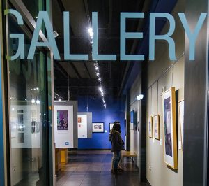 Arcus Gallery at the Center for New Media, Kalamazoo Valley Community College - December 2019 Art Hop