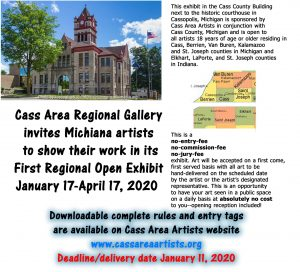 Cass County Regional Gallery - Call to Artists