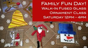 Family Fun Day : Walk-In Fused Glass Ornament Clas...