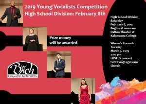 20th Annual Young Vocalists Competition and Concert