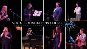 Vocal Foundations Course (Summer 2020)