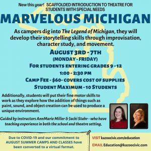 Marvelous Michigan (Grades 9-12)