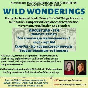 Wild Wonderings (Grades 4-8)