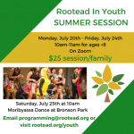 Rootead in Youth Virtual
