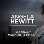 Virtual Special Event - Angela Hewitt