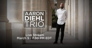 Virtual Jazz Club - Aaron Diehl Trio