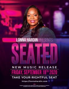 Lonna Hardin Seated Album Release