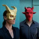 Make and Take: Laser-Cut Last Minute Halloween Masks! (Oh F***! Oh S***!)