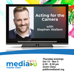 Acting for the Camera with Stephen Wallem