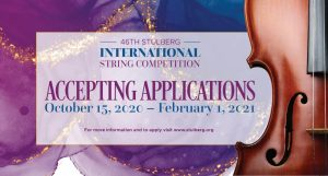 2021 46th Stulberg International String Competition Application