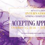 46th Stulberg International String Competition - 2...