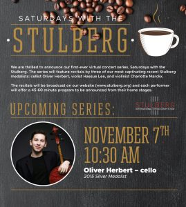 Saturdays with the Stulberg - Oliver Herbert